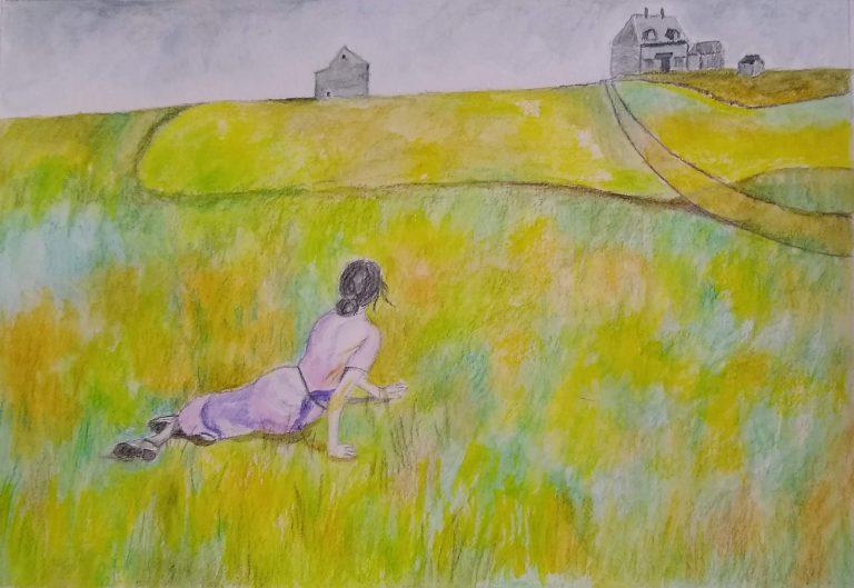 Christina's World painting