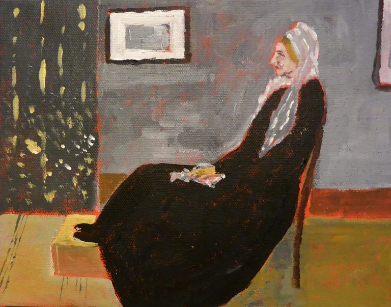 Painting of Whistler's Mother